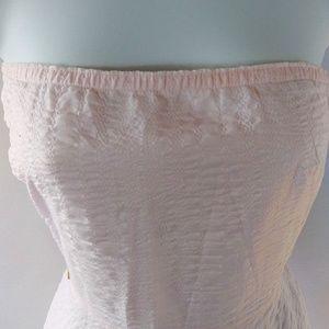 J. Crew Dresses - Pastel pink J Crew seersucker party dress